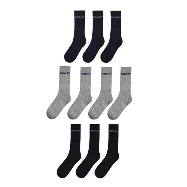 Donnay 10 Pack Crew Sports Socks Mens