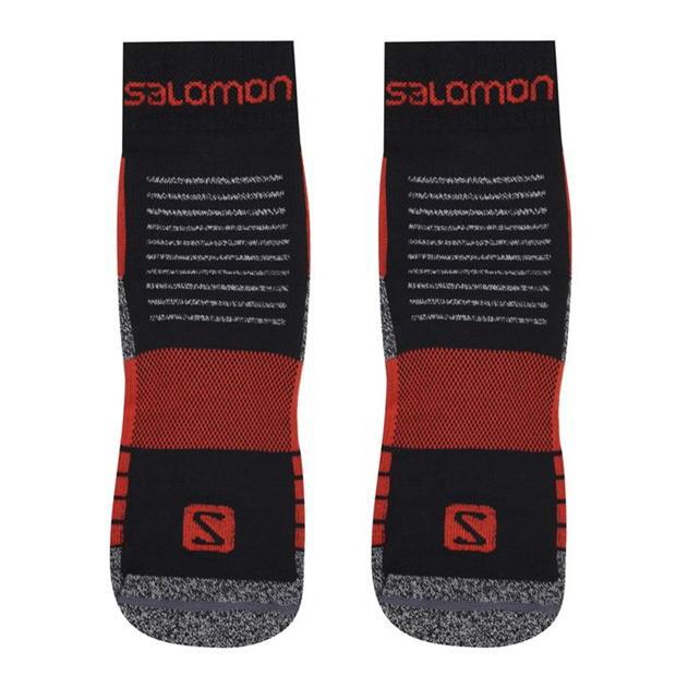 Salomon Merino Low 2 Pack Walking Socks Mens