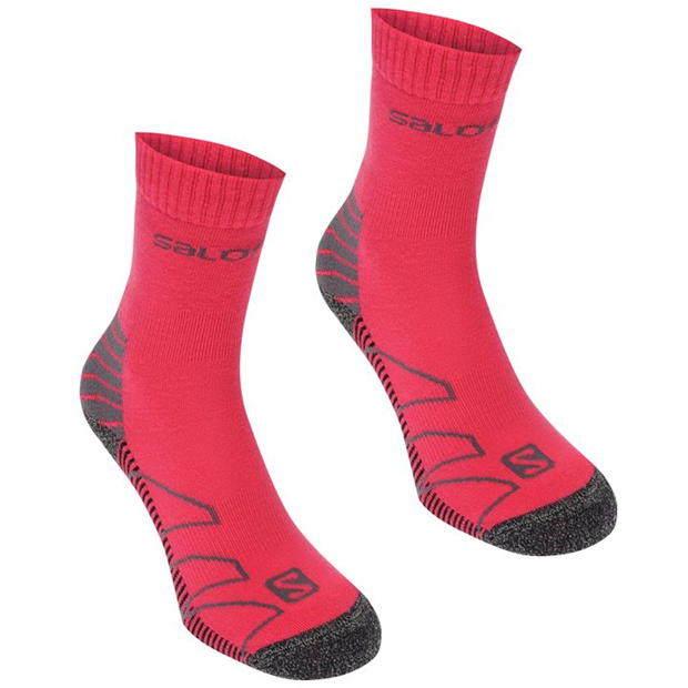 Salomon Lightweight 2 Pack Walking Socks Ladies