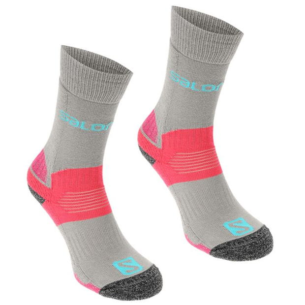 Salomon Midweight 2 Pack Ladies Walking Socks