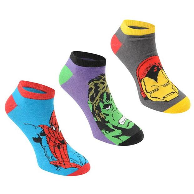 Character Trainer Socks 3 Pack Junior