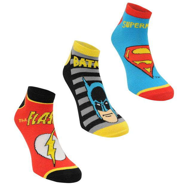 Character Trainer Socks 3 Pack Junior