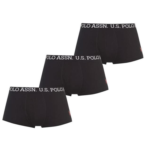 US Polo Assn 3 Pack Boxers