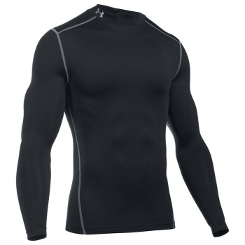 Under Armour ColdGear Armour Mock Neck Baselayer Top Mens M
