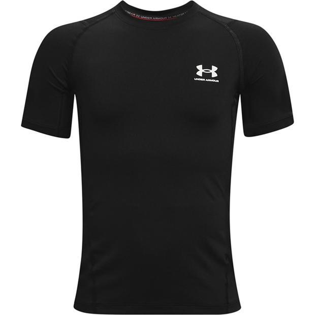Under Armour Heat Gear Armour Short Sleeve T Shirt Junior Boys