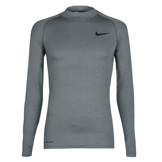Nike Pro Core Mock Neck TShirt Mens