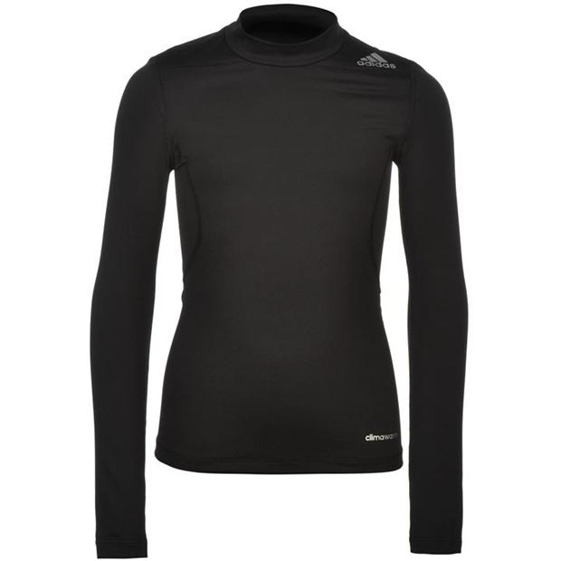 adidas Base TechFit Mock Neck Baselayer Juniors