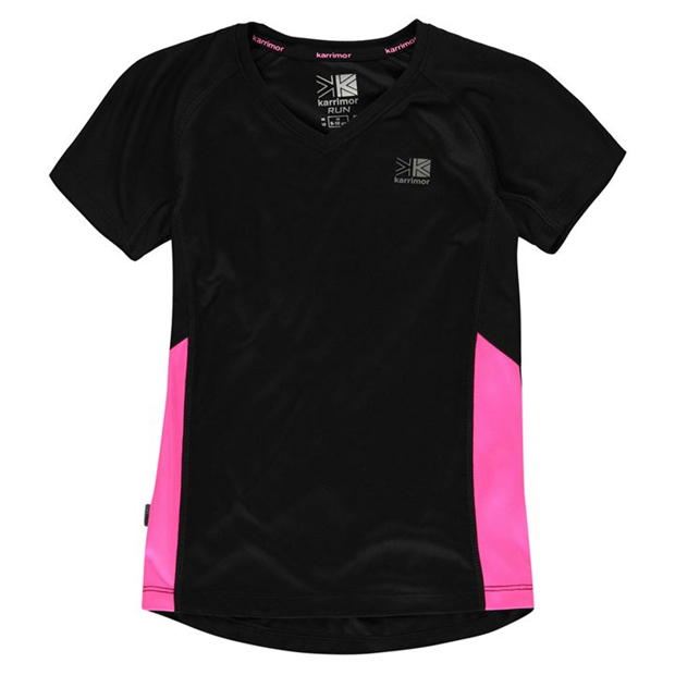 Karrimor Short Sleeved Running Top Girls