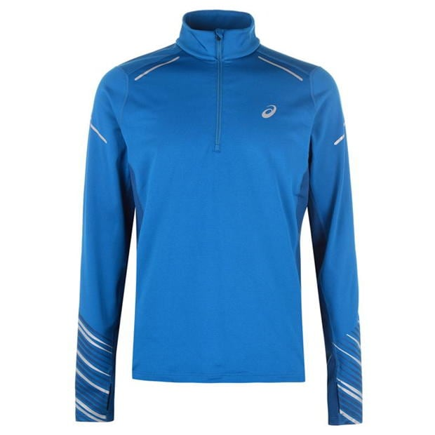 Asics Zip Long Sleeve Top Mens
