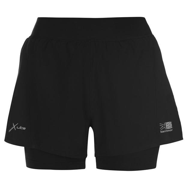 Karrimor 2 in 1 Shorts Ladies