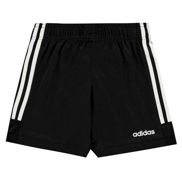 adidas 3 Stripe Nova Shorts Juniors