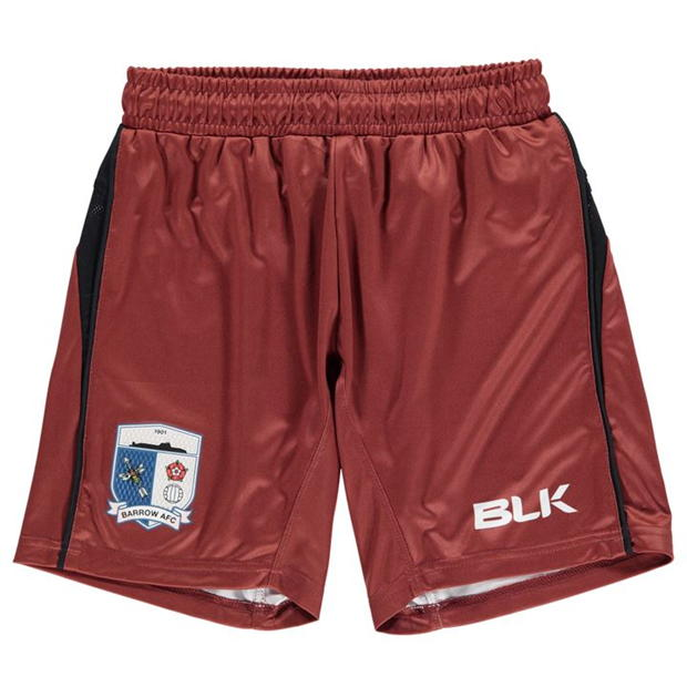 BLK Barrow AFC Home Shorts Childrens