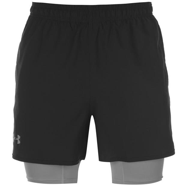 Under Armour Qualifier 2 in 1 Shorts Mens