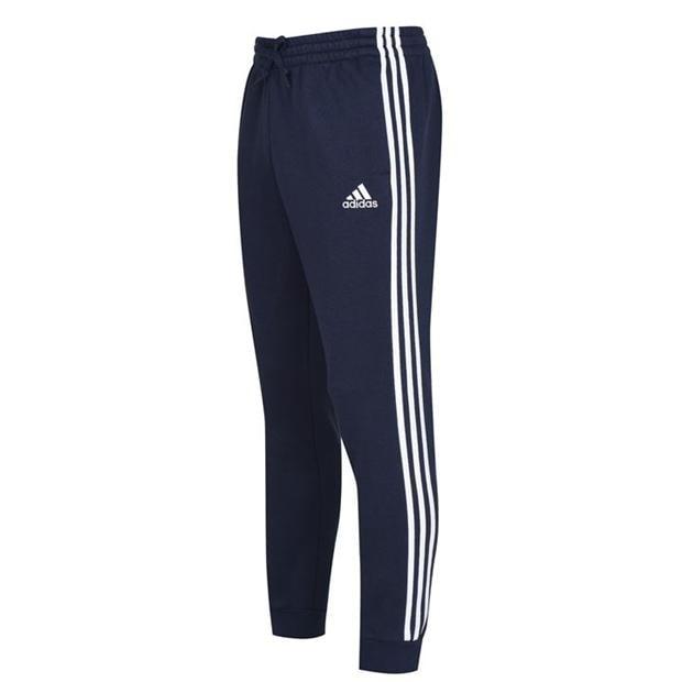adidas adidas Essentials Fleece 3 Stripes Jogging Pants Mens