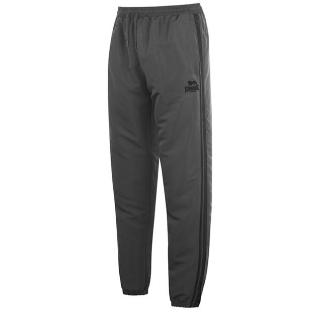 Lonsdale 2 Stripe Tracksuit Bottoms Mens