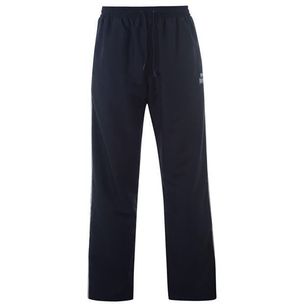 Lonsdale 2 Stripe Open Hem Woven Pants Mens