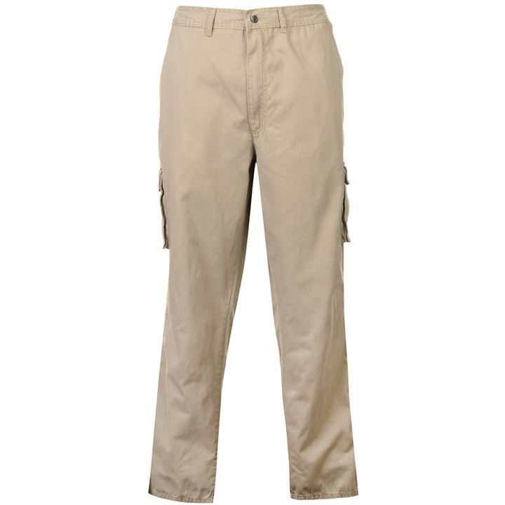 Full Blue Cargo Trousers Mens