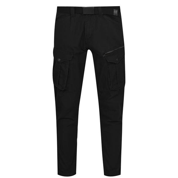 No Fear Belted Cargo Trousers Mens