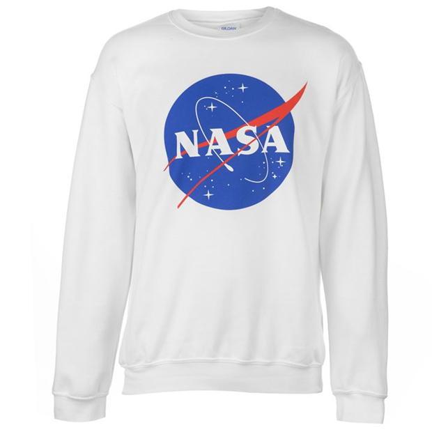 Official Official NASA Logo Sweatshirt Mens