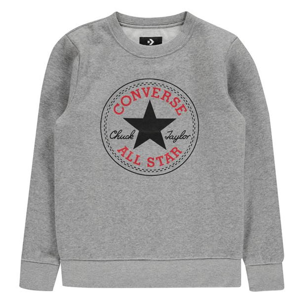 Converse Chuck Crew Sweatshirt Junior Boys