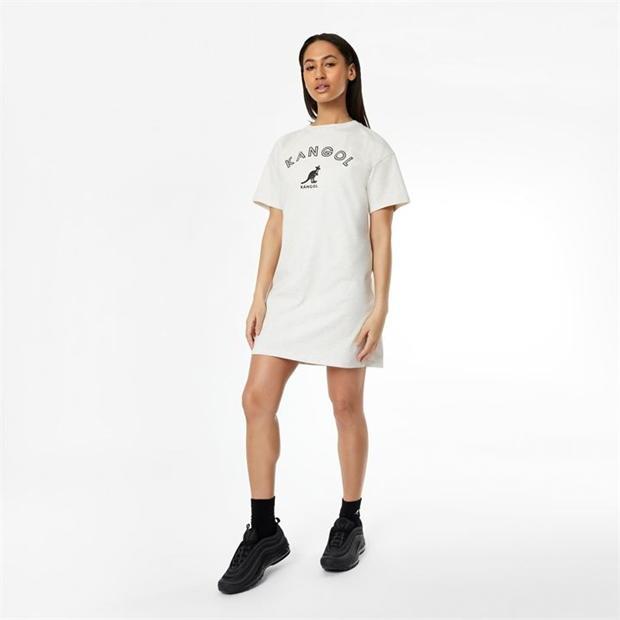 Kangol T Shirt Dress Ladies