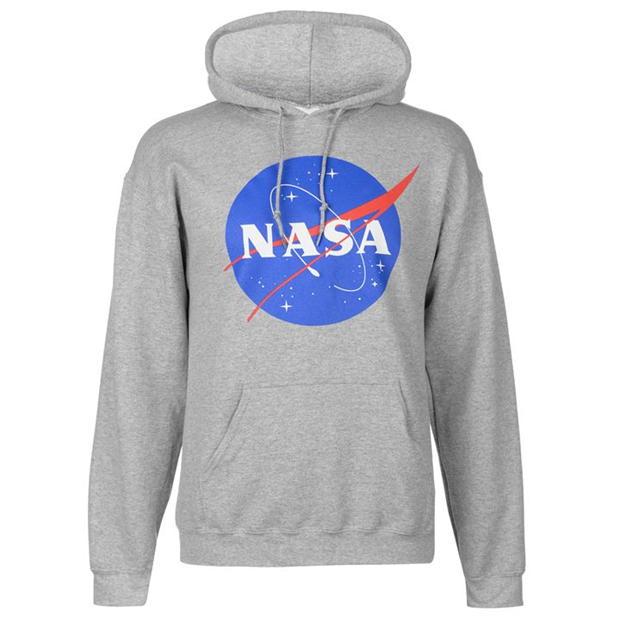 Official Classic NASA Logo Hoody Mens