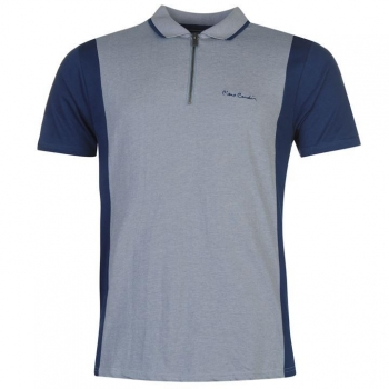 Pierre Cardin Zip Neck Polo Mens (M)