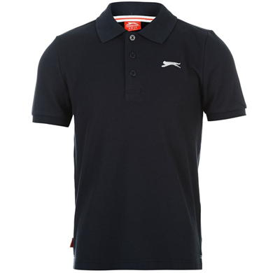 Slazenger Plain Polo Shirt Junior Boys