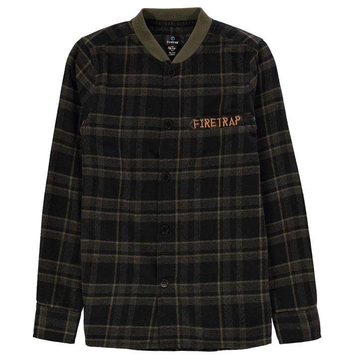 Firetrap Check Shirt Junior Boys