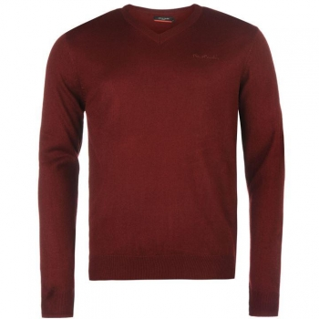 Pierre Cardin V Neck Knit Jumper Mens (XL), (XXL)
