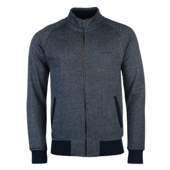 АКЦИЯ: скидка 30% от стоимости! Pierre Cardin Herringbone Full Zip Sweater Mens S