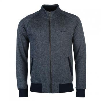 АКЦИЯ: скидка 10% от стоимости! Pierre Cardin Herringbone Full Zip Sweater Mens S