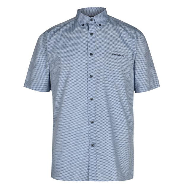 Pierre Cardin Short Sleeve Shirt Mens