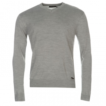 Pierre Cardin V Neck Knitted Jumper Mens (M)