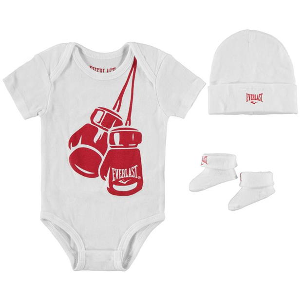 Everlast 3 Piece Romper Set Babies