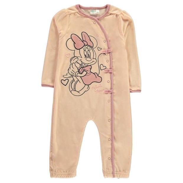 Character Velvet Sleepsuit Baby