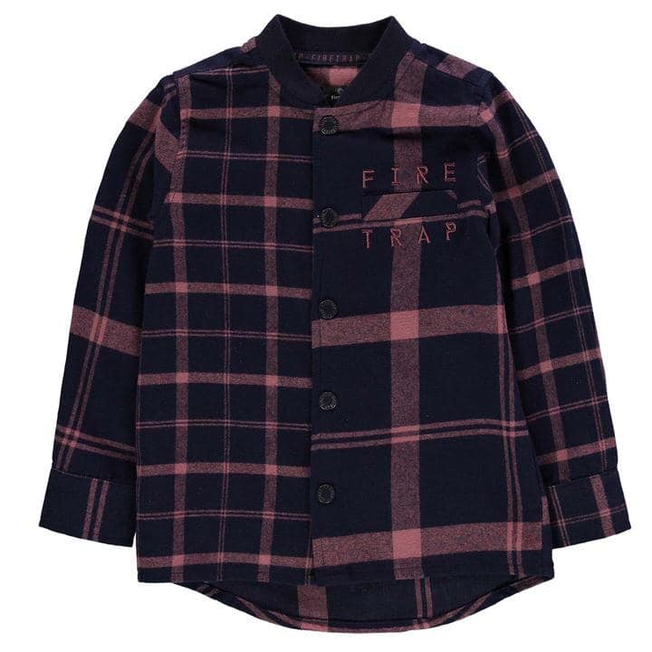 Firetrap Check Shirt Baby Boys
