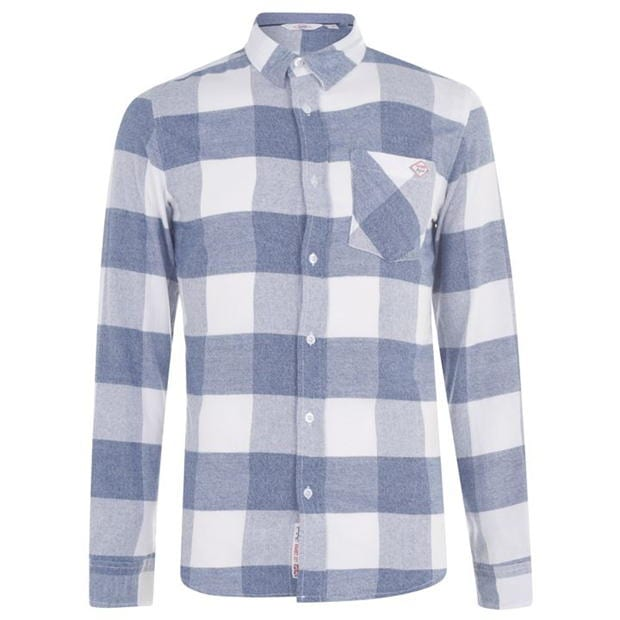 Lee Cooper Soft Long Sleeve Shirt Mens