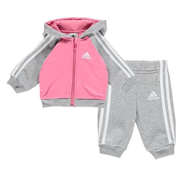 adidas Stripe Fleece Tracksuit Babies