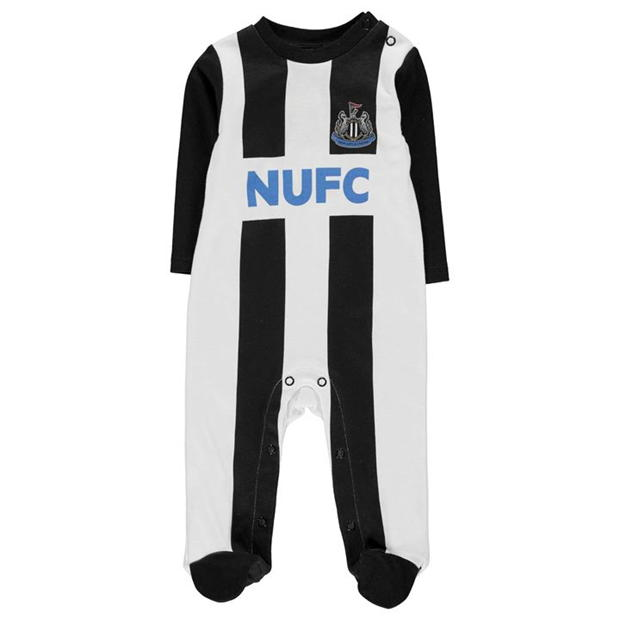 Team Football Sleepsuit Baby Boys