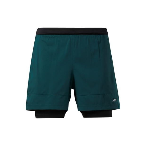 Reebok Running Essentials Two-in-One Shorts Mens