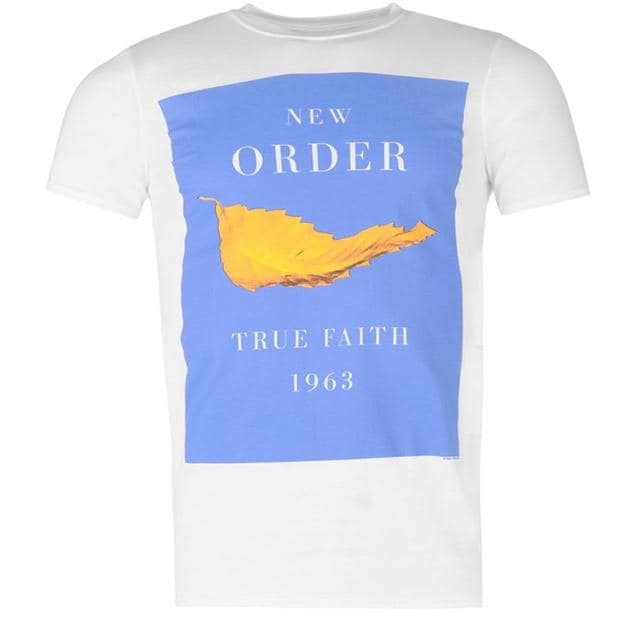 Official New Order Mens T Shirt