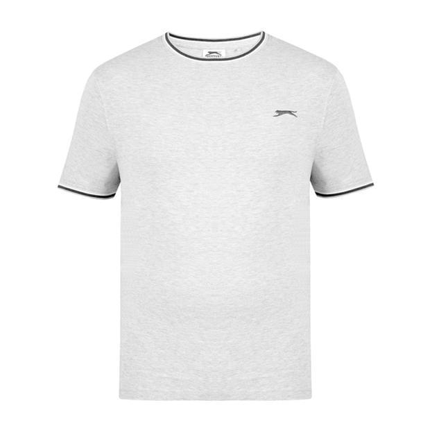 Slazenger Tipped T Shirt Mens