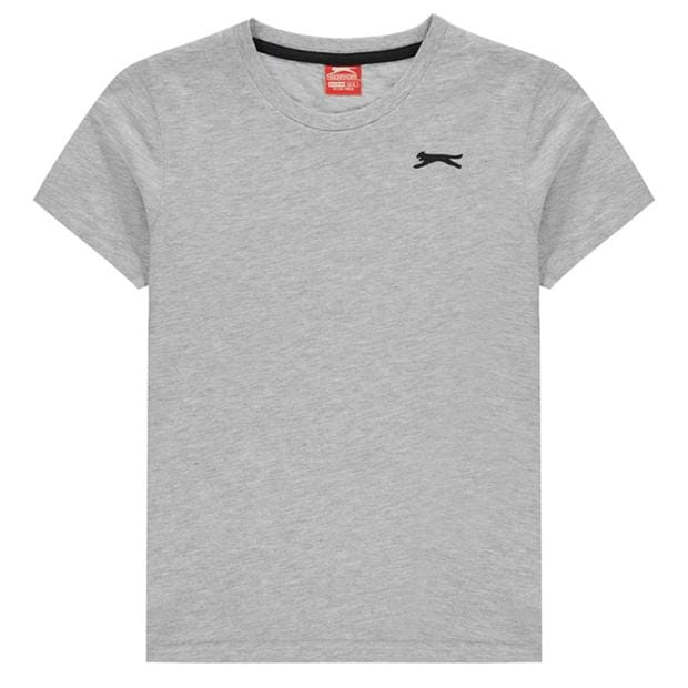 Slazenger Plain T Shirt Junior Boys