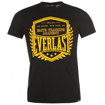 Everlast Logo T Shirt Mens L
