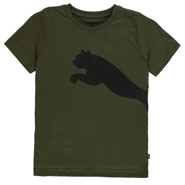 Puma Big Cat QT T Shirt Junior Boys
