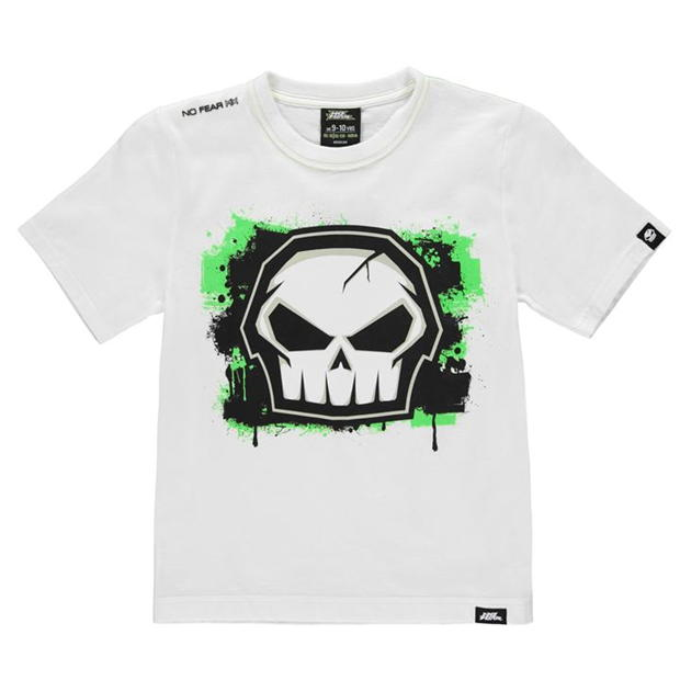 No Fear Core Graphic TShirt Junior Boys