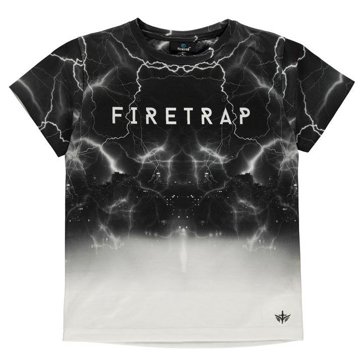 Firetrap Sub T Shirt Junior Boys