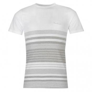 Pierre Cardin England Stripe Tshirt Mens (L)