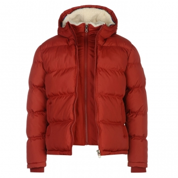 SoulCal Two Zip Bubble Jacket Mens (S)
